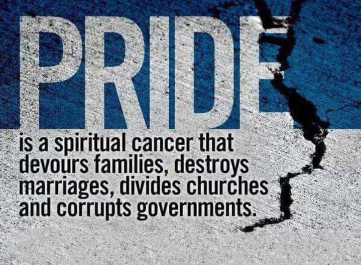 Scriptures Concerning Pride – Jesus Truth Deliverance
