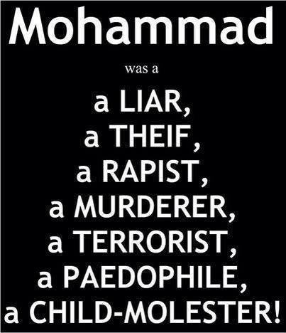 Image result for mohammad is a pedophile