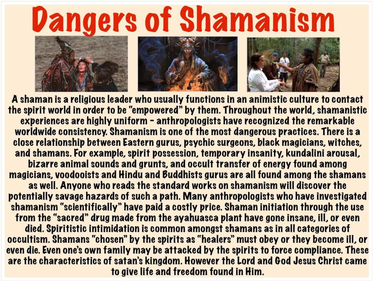Dangers of Shamanism