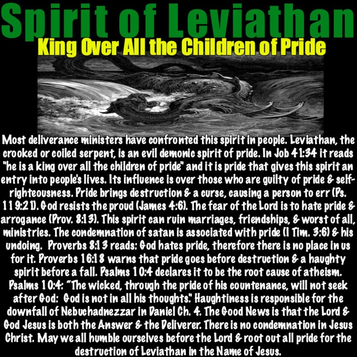 Spirit of Leviathan – Jesus Truth Deliverance