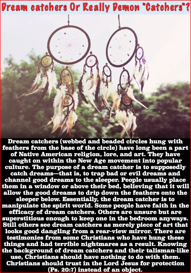 Potential Dangers Of Dream Catchers Jesus Truth Deliverance Delectable Truth About Dream Catchers