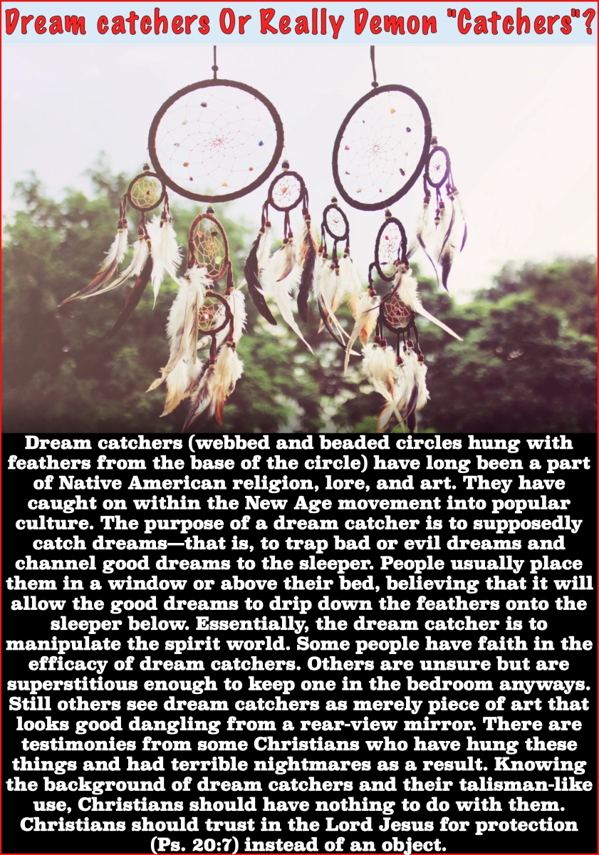 Potential Dangers of Dream Catchers
