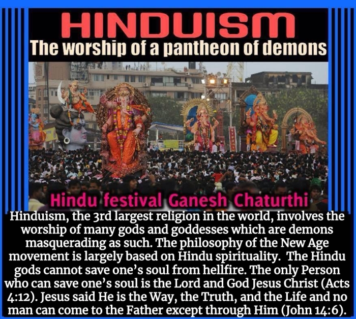 Hindu false demon gods Jesus Christianity.jpg